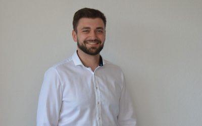 Neuer WEG-Verwalter Maxim Amosenko